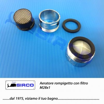 Aeratori rompigetto con filtro rubinetteria ricambi - Aeratore per bagno ...