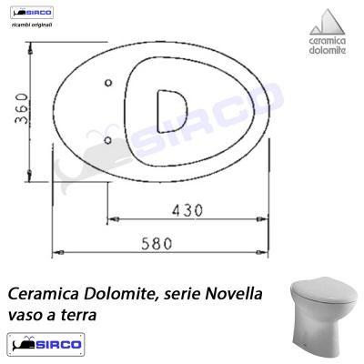 Ceramica Dolomite Schede Tecniche.Serie Novella Scheda Tecnica Varianti Dolomite Novella Sirco Sas