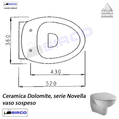 Serie Novella Scheda Tecnica Varianti Dolomite Novella Sirco Sas Arredo Bagno Biella Piemonte