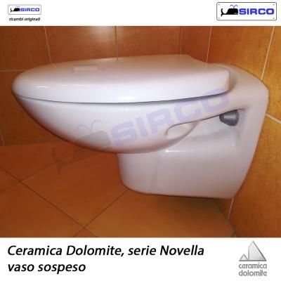 Ceramica Dolomite Serie Gemma Sospesa.Dolomite Serie Novella Vaso Sospeso Varianti Dolomite