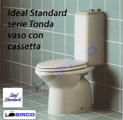Sedile Wc Ideal Standard Serie Tesi.Ideal Standard Serie Tonda Boiserie In Ceramica Per Bagno