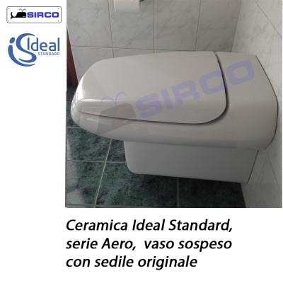 Modello aero sedili per wc ideal standard sedili per vasi for Copriwater conca ideal standard originale