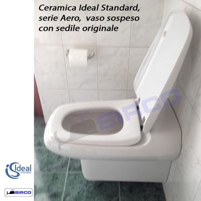 Modello aero sedili per wc ideal standard sedili per vasi for Modelli water ideal standard