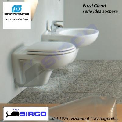 Serie idea scheda tecnica varianti pozzi ginori idea sirco - Pozzi ginori idea ...