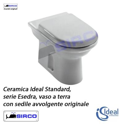 Esedra c6692 paracolpi originali is varianti ideal for Serie esedra ideal standard