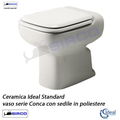 Serie conca scheda tecnica varianti ideal standard conca for Lavandino ideal standard conca