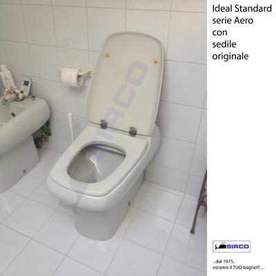 Aero bianco ideal standard varianti ideal standard for Modelli water ideal standard