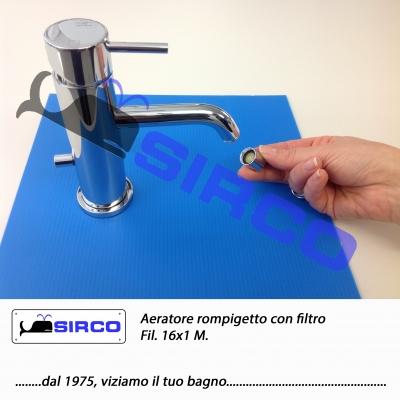 16x1 aeratore rompigetto con filtro ar5504q51 varianti - Aeratore per bagno ...
