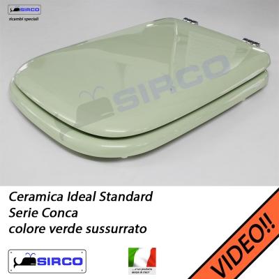 Sedile conca bianco varianti ideal standard conca sirco for Ideal standard conca visone