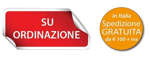 su ordinazione spedizione gratuita in italia da 100€