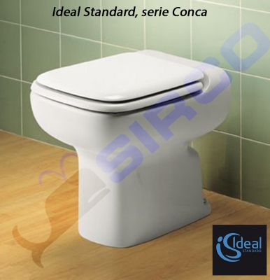 Conca t202800 paracolpi originali is varianti ideal for Copriwater conca ideal standard originale