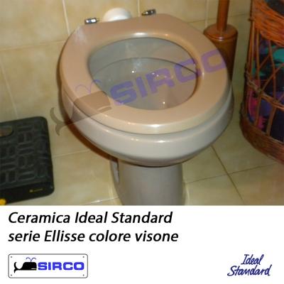Ellisse visone ideal standard varianti ideal standard for Ellisse ideal standard