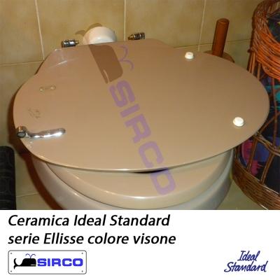 Ellisse visone ideal standard varianti ideal standard for Ideal standard conca visone