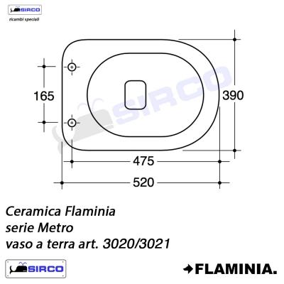 Ceramica Flaminia Schede Tecniche.Serie Metro Scheda Tecnica Varianti Flaminia Metro Sirco Sas
