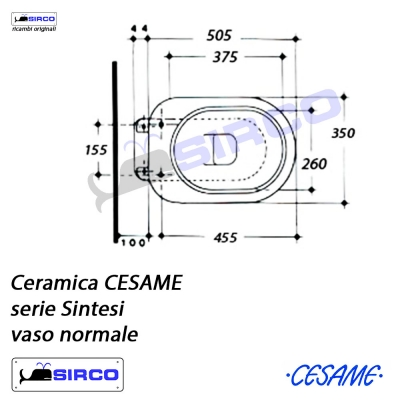 serie SINTESI scheda tecnica VARIANTI Cesame Sintesi Sirco sas ...