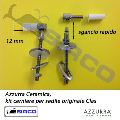 Clas cerniere originali varianti azzurra cerniere sirco for Tavoletta wc dolomite