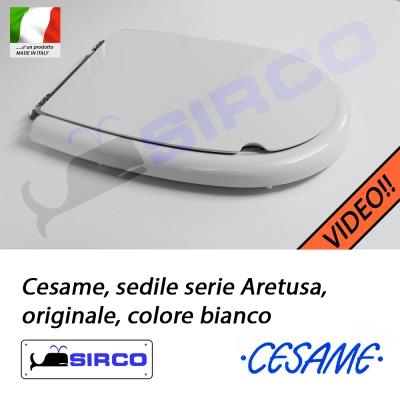 Sedile Wc Cesame Aretusa.Sedile Aretusa Bianco Originale Varianti Cesame Aretusa Sirco Sas Arredo Bagno Biella Piemonte