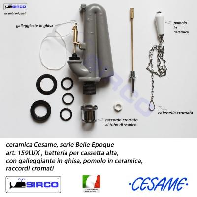 Cassetta Wc Alta In Ceramica.Belle Epoque Batteria Cassetta Alta Lux Varianti Cesame Belle Epoque
