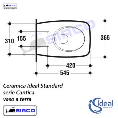 Serie cantica scheda tecnica varianti ideal standard for Calla ideal standard scheda tecnica