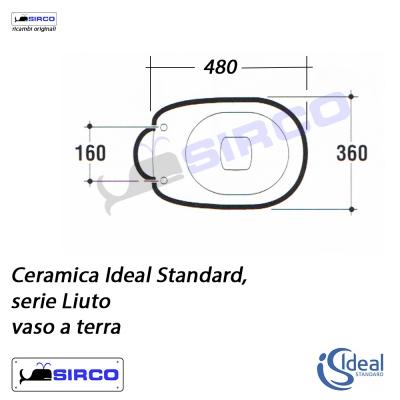 Sedile liuto bianco varianti ideal standard liuto sirco for Ideal standard liuto