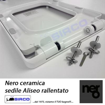 Nero Ceramica Aliseo Prezzi.Aliseo Paracolpi Sedile Rallentato Originali Varianti Nero Paracolpi