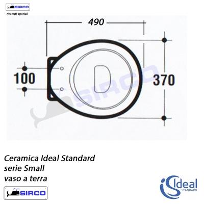 Serie small scheda tecnica varianti ideal standard small for Calla ideal standard scheda tecnica