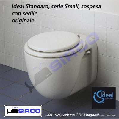 Serie small scheda tecnica varianti ideal standard small for Vaso ideal standard serie 21