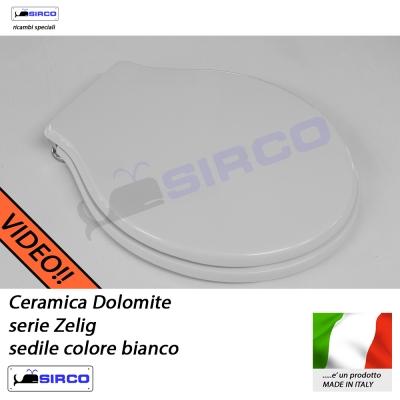 Ceramica Dolomite Zelig Prezzi.Sedile Zelig Bianco Varianti Dolomite Zelig Sirco Sas Arredo Bagno
