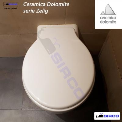 Ceramica Dolomite Serie Zelig.Sedile Zelig Bianco Varianti Dolomite Zelig Sirco Sas Arredo Bagno Biella Piemonte