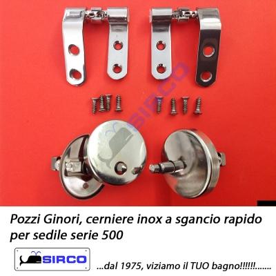 Sedile Pozzi Ginori Serie 500.Per Copriwater Pozzi Ginori Sedili Per Wc Ricambi Cerniere Per