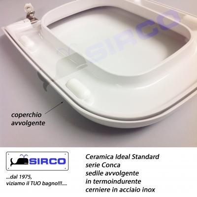 Sedile Water Ideal Standard Conca.Sedile Conca Originale Bianco Avvolgente Varianti Ideal Standard