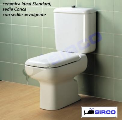 sedile conca originale bianco avvolgente varianti ideal