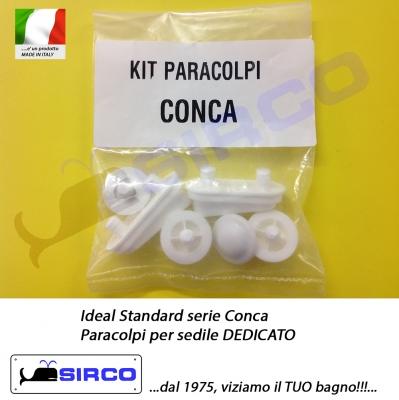 Conca paracolpi per sedile dedicato varianti ideal for Conca ideal standard