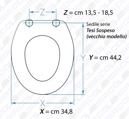 Modello tesi sospeso vecchio modello sedili per wc ideal for Modelli water ideal standard