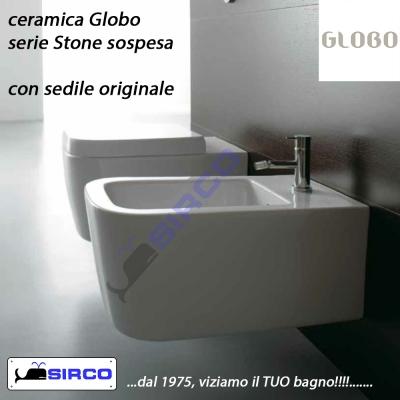 Ceramica Globo Serie Stone.Stone Cerniere Soft Close Originali Varianti Globo Cerniere Sirco