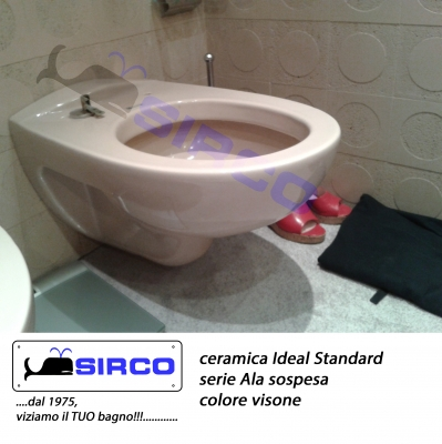 Aquatonda bianco ideal standard varianti ideal standard for Ideal standard conca visone