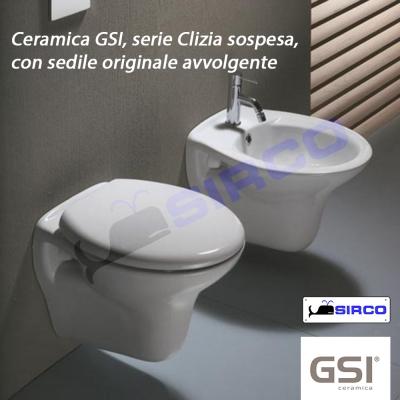 modello CLIZIA Sedili per WC, Tutte le Marche per vaso G.S.I. Sirco ...