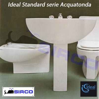Modello aquatonda sedili per wc ideal standard sedili per for Arredo bagno ideal standard