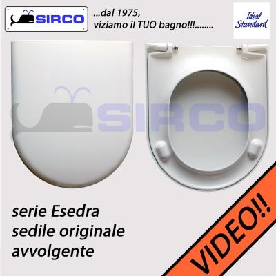 Sedile esedra bianco originale varianti ideal standard for Sedile wc ideal standard esedra