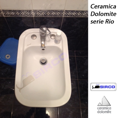 Dolomite serie rio vaso a terra varianti dolomite photogallery sirco sas arredo bagno biella - Dolomite arredo bagno ...