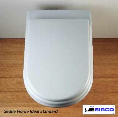 Sedile Fiorile Ideal Standard.Sedile Fiorile Bordo Diritto Colorato Varianti Ideal Standard