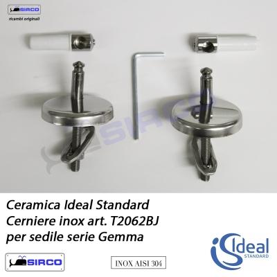 Diagonal cerniera per sedile originale varianti ideal for Copriwater conca ideal standard originale