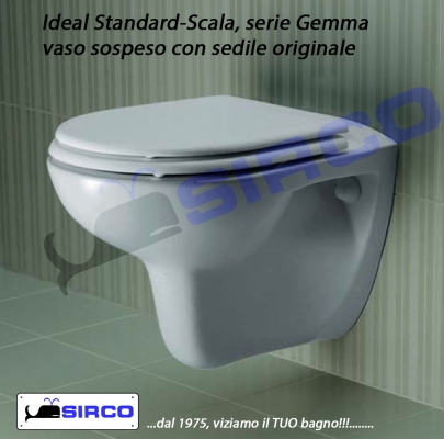 Ceramica Scala Serie Gemma.Gemma T2062bj Cerniere Varianti Ideal Standard Cerniere