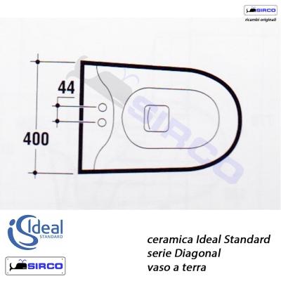 Ideal standard diagonal sirco sas arredo bagno biella piemonte for Ideal standard diagonal