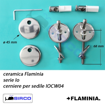 Ceramica Flaminia Serie Io.Io Cerniere Originali Varianti Flaminia Cerniere Sirco Sas Arredo