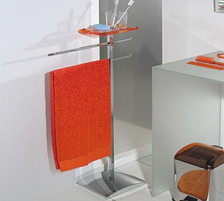 5037 akka portarotolo doppio scopino accessori da bagno for Arredo bagno biella