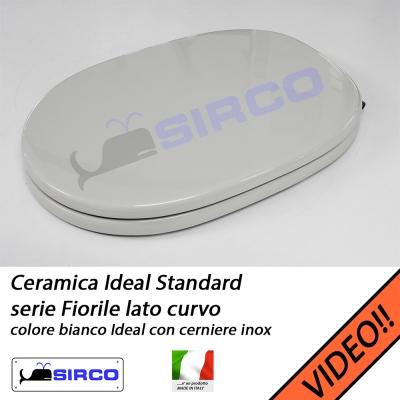 Sedile Fiorile Ideal Standard.Sedile Fiorile Curvo Bianco Clone Varianti Ideal Standard Fiorile