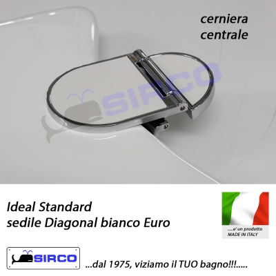 Sedile diagonal bianco varianti ideal standard diagonal for Ideal standard diagonal