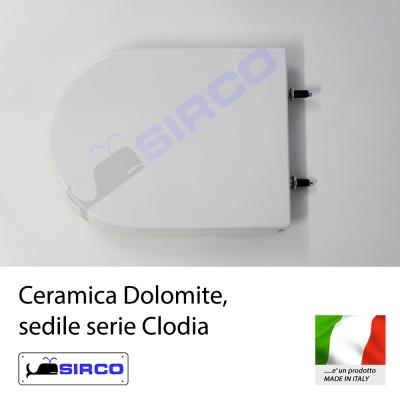 Sedile clodia bianco varianti dolomite clodia sirco sas for Dolomite serie clodia