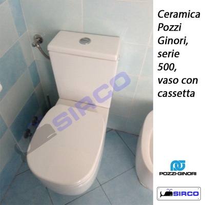 Pozzi Ginori Ceramiche Bagno.500 Con Cassetta Bianco Pozzi Ginori Varianti Pozzi Ginori